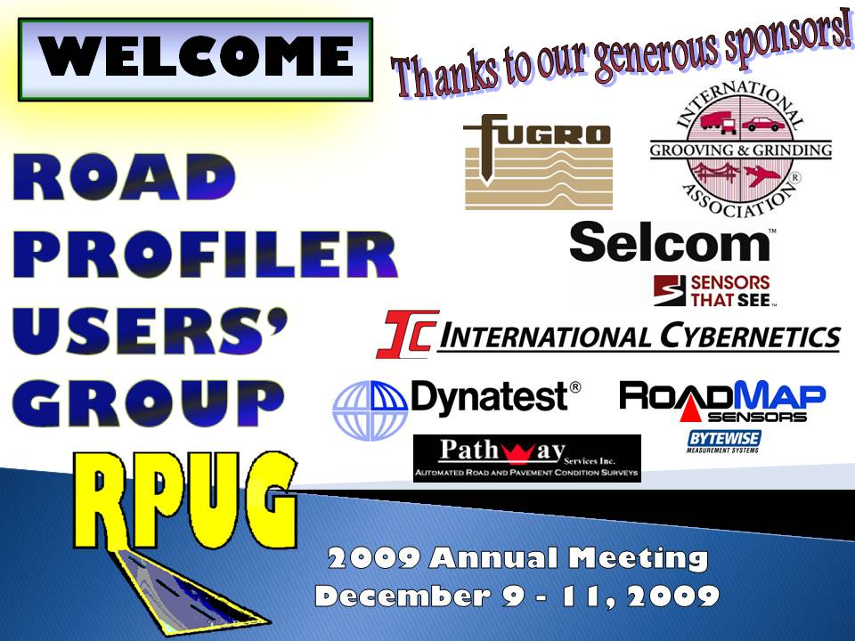 RPUG Welcome slide 2009_0